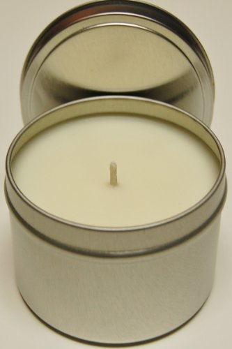Soy Candle Tins Scented 8oz - Fresh Coffee