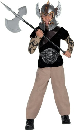 [Child's Barbarian Warrior Costume (Size:Small 4-6)] (Barbarian Warrior Costume)