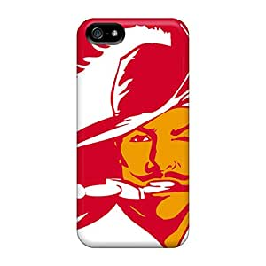 Iphone 5/5s RXo3482dgPF Allow Personal Design Beautiful Tampa Bay Buccaneers Image Anti-Scratch Hard Phone Cover -SherriFakhry