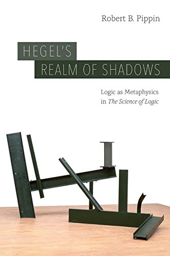 """Hegel's Realm of Shadows: Logic as Metaphysics in """"The Science of Logic"""""""