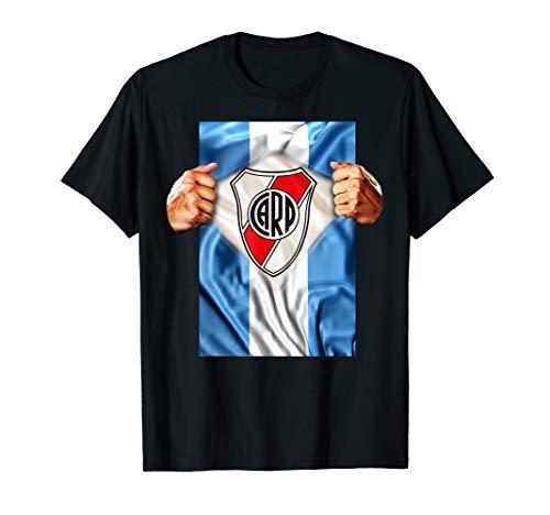 Soccer River Plate - River Plate T-shirt Heartbeat Football Soccer Fans Gift