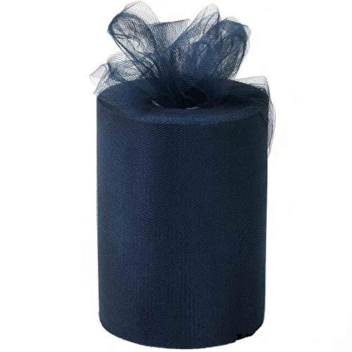 Navy Blue Tulle Wedding Decor - 6