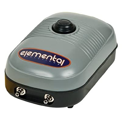 Elemental O2 Air Pump 127 GPH (Two Outlet)