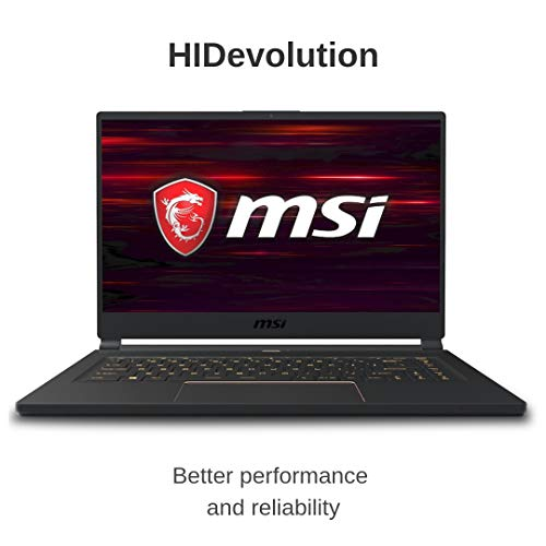 Compare HIDevolution MSI GS65 9SG Stealth (MS-GS65666-HID3-US) vs other laptops
