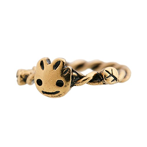 Baby Tree Groot Golden Kirsite Ring Costume Accessories (Groot Halloween Costume Baby)