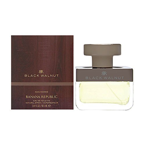 Banana Republic Black Walnut for Men 3.4 Oz Eau De Toilette Spray by Banana - Walnut Banana Black