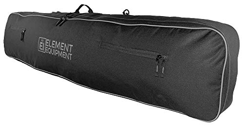 Element Equipment Snowboard Bag 148 with Shoulder Strap and Gear Pockets Black/Grey