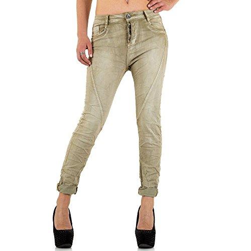 MOZZAAR MOZZAAR Kaki Femme Jeans Kaki Femme Jeans Jeans Femme Kaki MOZZAAR MOZZAAR 4rq54Pxw