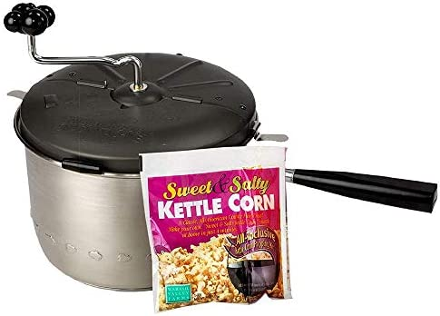 Sweet Easy Snack Machine – 1 Kettle Corn All Inclusive Popping Kit