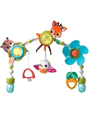 TINY LOVE Into The Forest Musical Nature Stroll Stroller Arch Baby Toy, Multi
