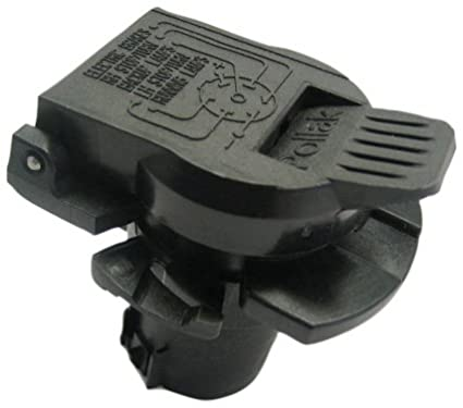 amazon com pollak 11 916p rv 7 way socket oem style automotive rh amazon com