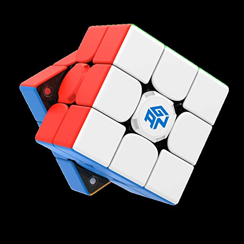NZKZ Rubix Cube Professional Educational Toys Connect to Mobile Phones for Big Data Training Professional Cube,White