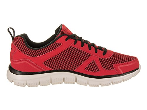 Agoura Burns Black 52635 Skechers Rojo FOnqAqw5