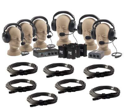 Anchor Audio COM-60FC/C PortaCom Wired Intercom Package
