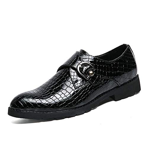 EU formali di Business Color coccodrillo Uomo Stick Uomo Dimensione shoes 44 Oxford verniciata Casual Xiaojuan pelle in Rosso forma a Scarpe Nero Scarpe Pelle Magic IZgqnx