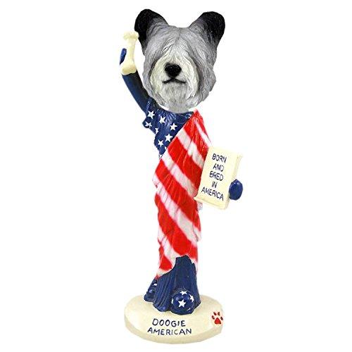 (Conversation Skye Terrier American Doogie Collectible Figurine)