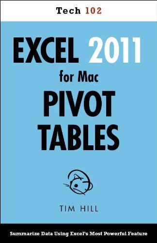 Excel 2011 for Mac Pivot Tables (Tech 102) Pdf