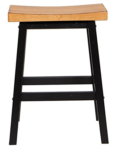 Quails Run Saddle Counter Stool - Set of 2 by Winners Only, Inc.