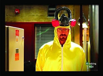 Breaking Bad 30 x 40 cm Traje de impresión enmarcada: Amazon ...