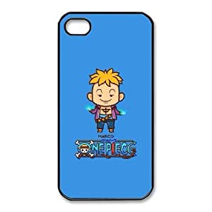iphone4 4s phone cases Black ONE PIECE Phone cover NAS3829940