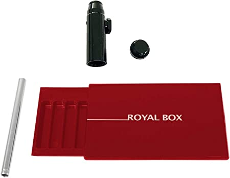 Compra M&M Smartek Royal Box - Caja con Tubos (Incluye dosificador para Tabaco para chupetes) en Amazon.es