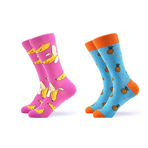 - WeciBor Women's Funny Casual Combed Cotton Socks Packs (065-15)