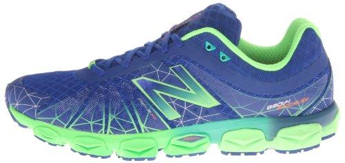 888098143058 - New Balance Men's M890 Running Shoe,Blue/Green,7.5 4E US carousel main 4
