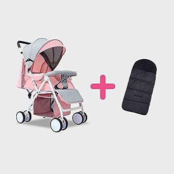 Amazon.com: IMBABY Cochecito de bebé ligero para muñecas de ...
