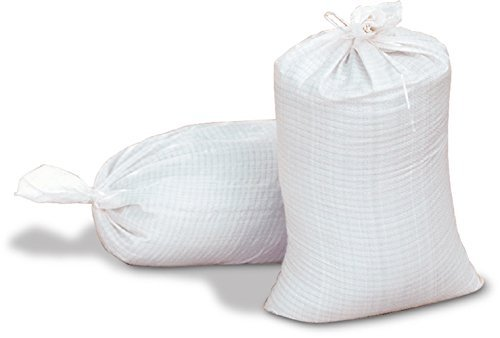 18 X 30 Woven Polypropylene Sand Bags With Ties & UV Prot...