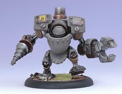 Privateer Press - Warmachine - Mercenary: Driller Model Kit 3