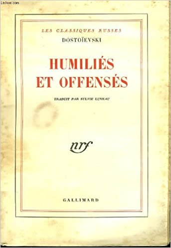 Livres gratuits Humiliés et offensés epub pdf
