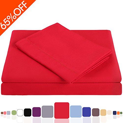 free shipping balichun microfiber 3 piece bed sheet set. Black Bedroom Furniture Sets. Home Design Ideas