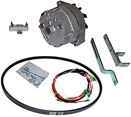 DB Electrical AKT0002 New Ford 600 4000 Tractor Alternator For Generator Conversion Kit Ford 55-64 4Cylinder 800 800 Series 801 Series Ford 55-64 4Cylinder 600 600 Series 601 Series