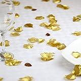 1000 piece Gold Silk Rose Petals Artificial Flower Wedding Decor