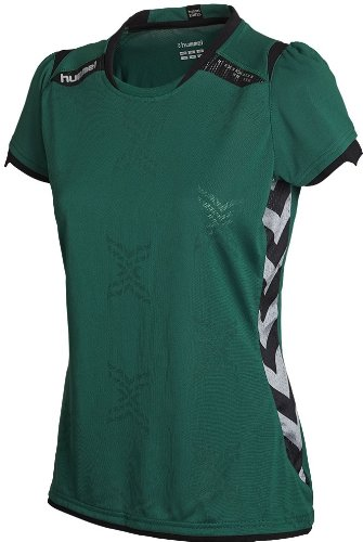 Hummel TECHNICAL X JERSEY SS WOMEN - EVERGREEN
