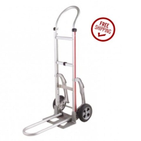 Magliner Hand Truck 111-A-830-C5-RFN with Recessed Folding Nose ()
