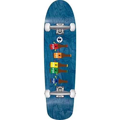 Enjoi Beer Run Cruiser Skateboard Complete-8.5x31 Blue Stain