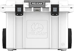 Pelican Elite 55 quart Cooler (Wheeled) - White
