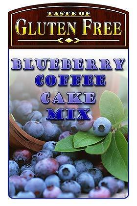 Taste of Gluten Free Cake Mix Blueberry Coffee -- 14 oz