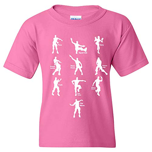 Fever Shirt Dance - UGP Campus Apparel Emote Dances - Funny Youth T Shirt - Small - Pink