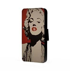 Marilyn Monroe Art - Samsung Galaxy S4 Trifold Wallet Case