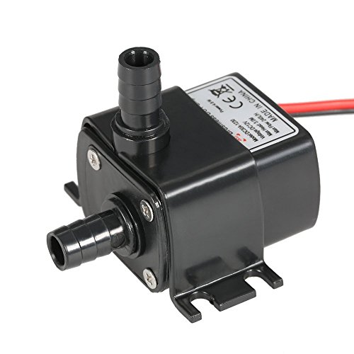 Anself Ultra-quiet Mini 4.8W DC12V Micro Brushless Water Oil Pump - Rotor Water