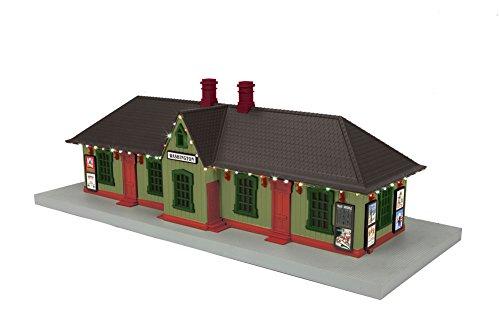 MTH 30–90549ワシントン国Passenger Station w /オペレーティングクリスマスライト