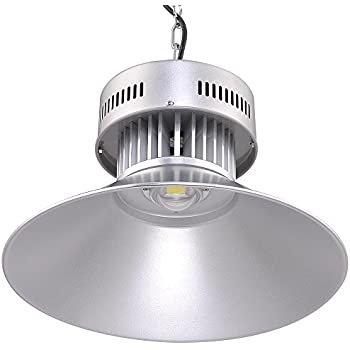 DELight 100w 19-inch LED Lighting Upgraded High Bay Light with Heat Sink and Fixture  sc 1 st  Amazon.com : high bay led lighting - azcodes.com