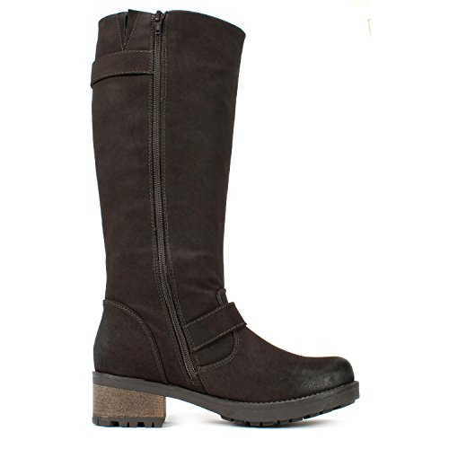 Vit Berg Blackbird Kvinna Boot Brown