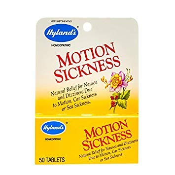 Hylands Motion Sickness 50 Tabs - Hyland's Motion Sickness, 50 Tablets (100 Tablets)