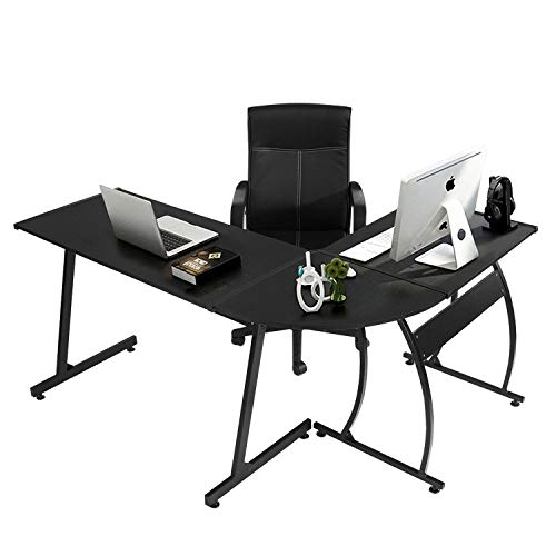 Cheap  GreenForest L-Shape Corner Computer Office Desk PC Laptop Table Workstation Home Office..