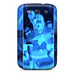 Samsung Galaxy S3 WBS15689HgZK Allow Personal Design Fashion Indianapolis Colts Pictures Protector Cell-phone Hard Cover -JamieBratt