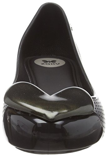 Black Ballerine Black Beauty Donna Zaxy Heart Pop vfwq80I