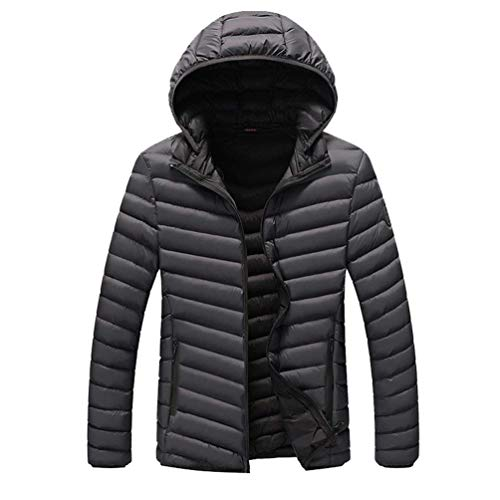 Quilted Hood Cotton fashion Jackets Laisla Jacket Quilted Warm Grau Thicken Detachable Men's Men's Winter Down Boy Waterproof Clásico Padded Puffer Windproof Autumn Soft Coat Ntel 1wIPq